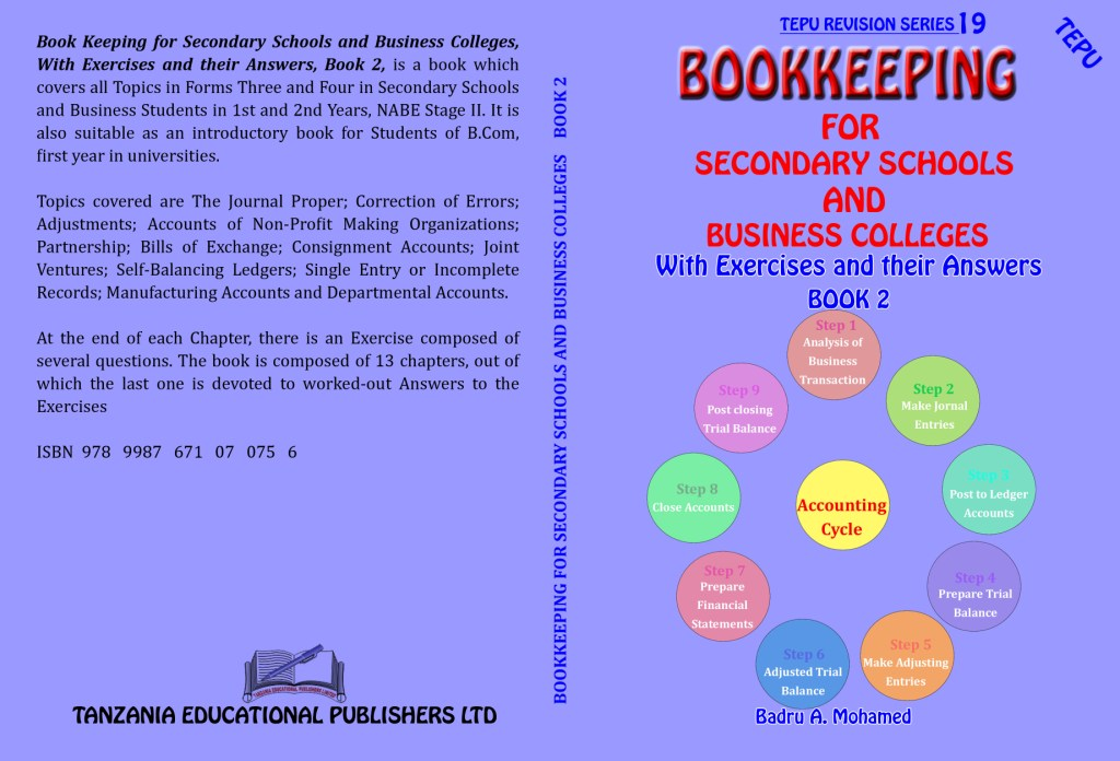 Book keeping for secondary schools and business studies Book 2